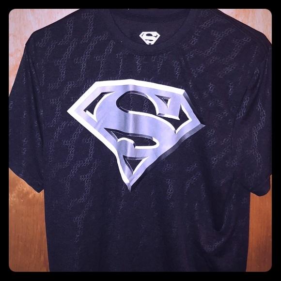 Dc Comics Shirts 20 Mens M Dc Performance Superman Logo Tshirt